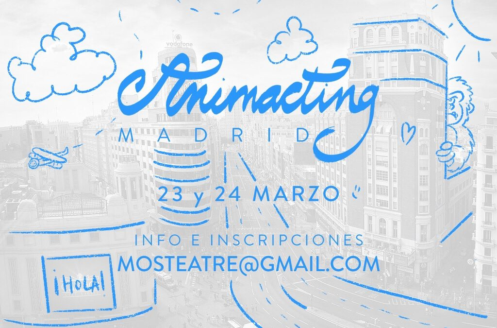 Taller ANIMACTING Madrid